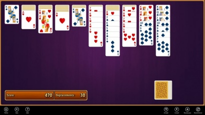 spider solitaire simple jeu windows 8 gratuit. Black Bedroom Furniture Sets. Home Design Ideas